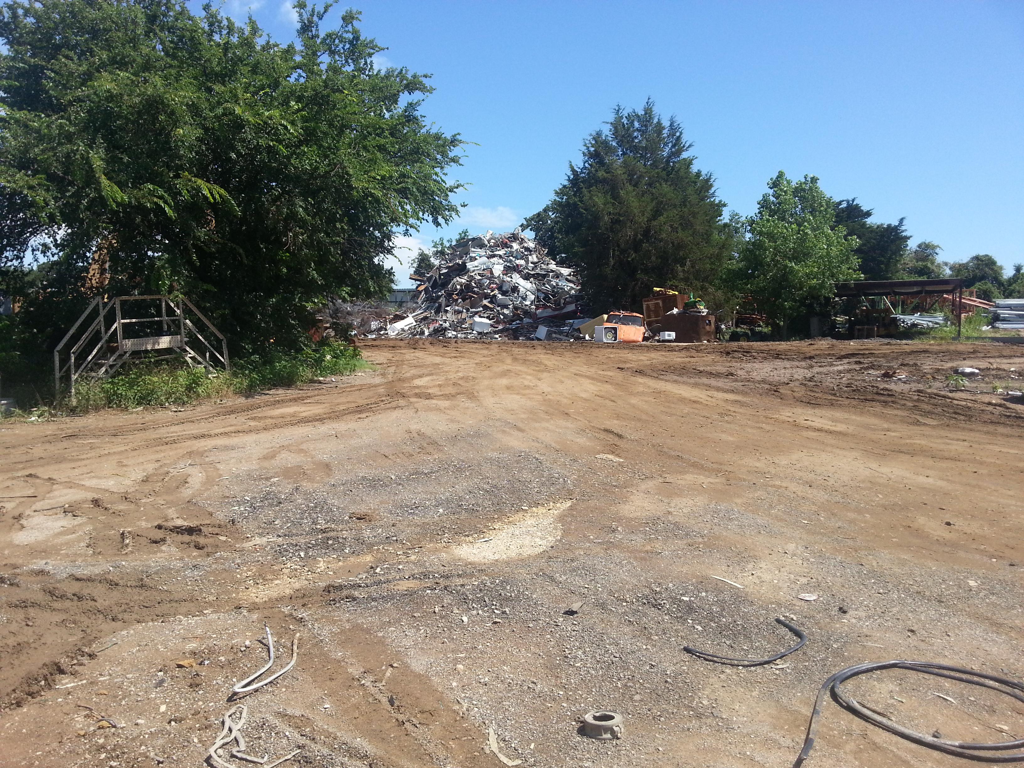 Scrap yard where I purchased the metal