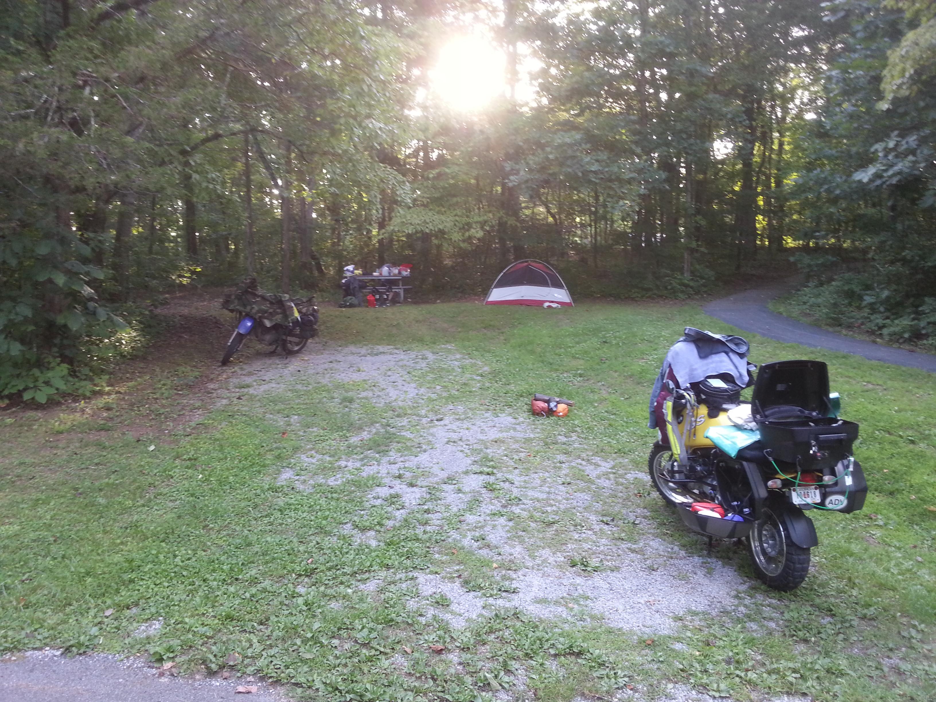 Cumberland Gap National Historic Park campground