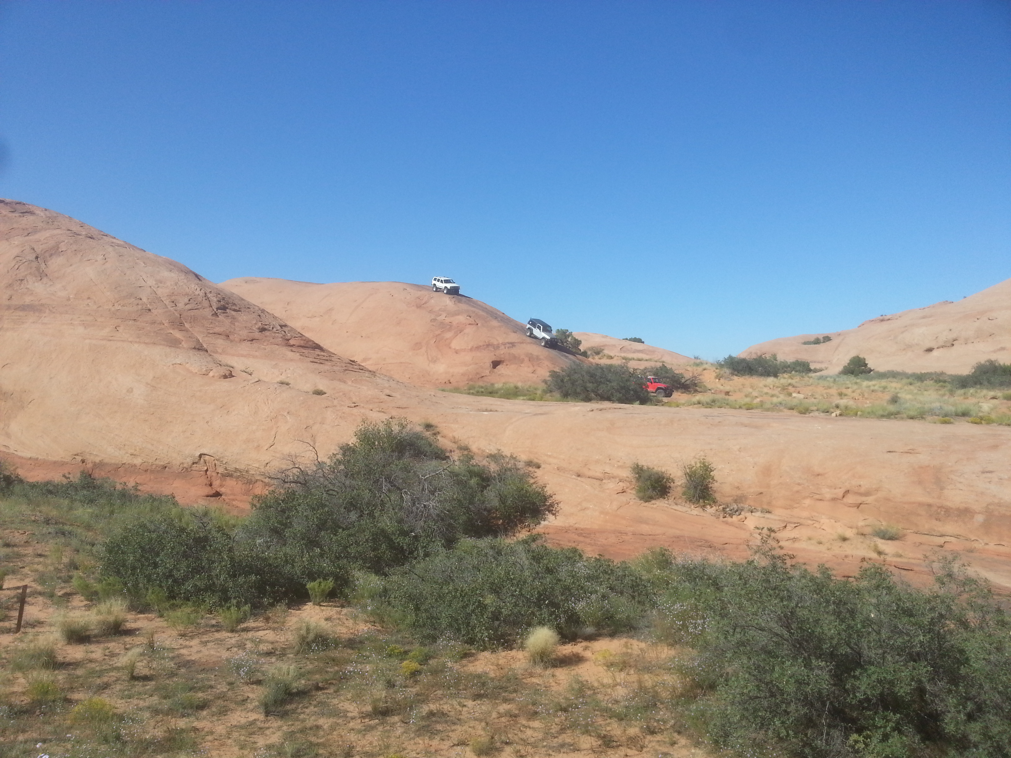 jeeps riding in Moab