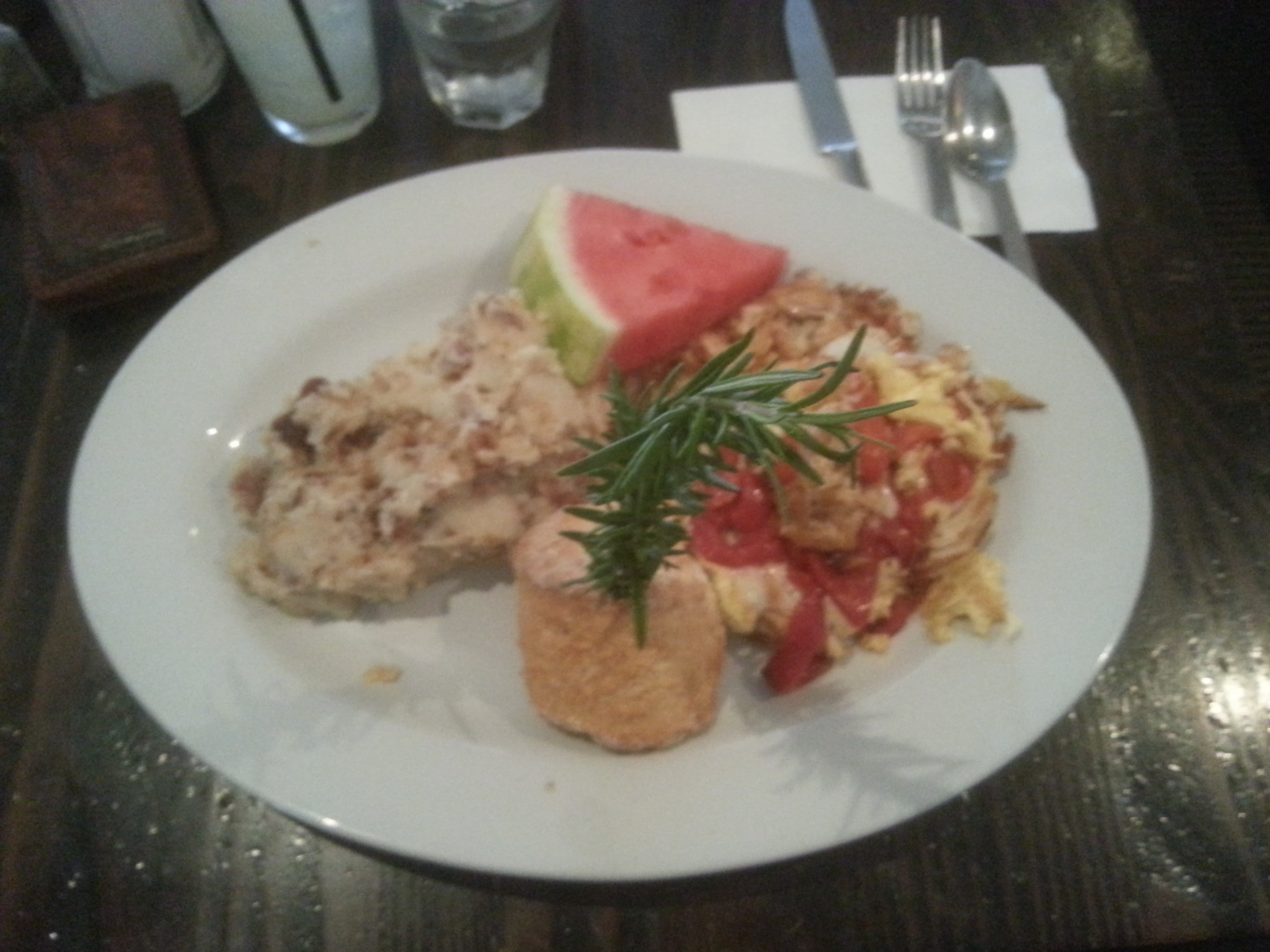 my scramble from Hash House a go go